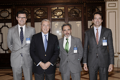 Manuel Contreras Caro, presidente de Azvi, interviene en el Almuerzo-Coloquio de APD con el Secretario de Estado de Infraestructuras